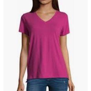 🌸ANNA🌸V neck tee shirt